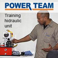 Power Team Hidraulic unit - training to ATIVA Pró-Tensão