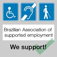 M.Shimizu support ABEA (Brazilian Association of supported employment)